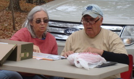 Ann (left) and Dale were always a great team.